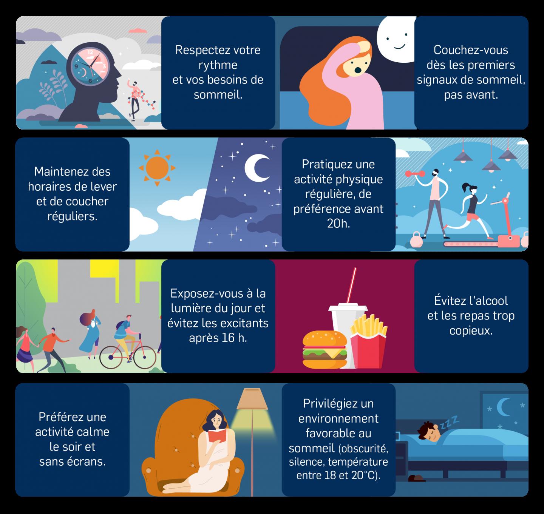 Conseils pour préserver son sommeil