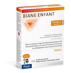 Biane Enfant Oméga 3, Vit D et E - Principal