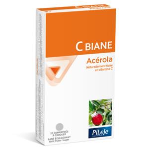 C Biane Acérola 20 comprimés