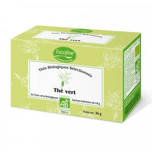 Thé vert biologique biologique - Escofine